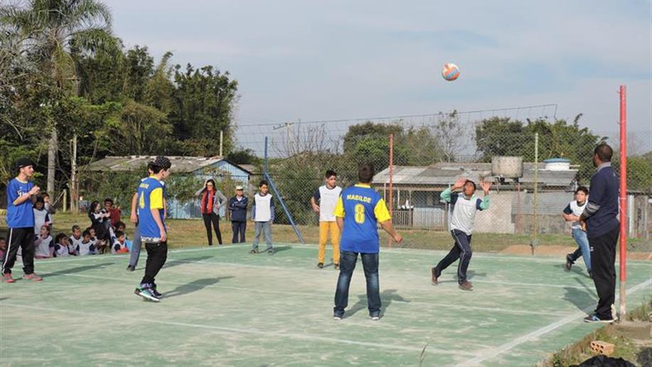 Evento esportivo é organizado pela Rede de Proteção à Criança e ao Adolescente