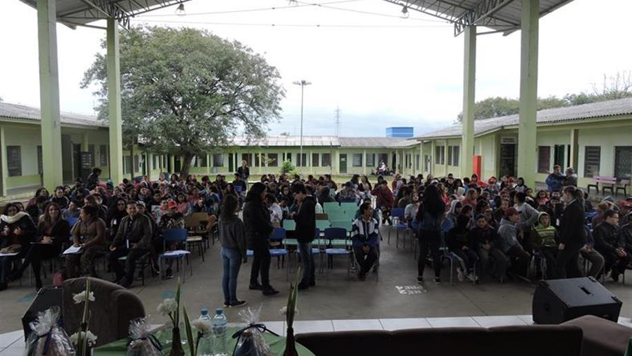 Evento ocorreu no dia 15/8, na Escola Municipal Harmonia