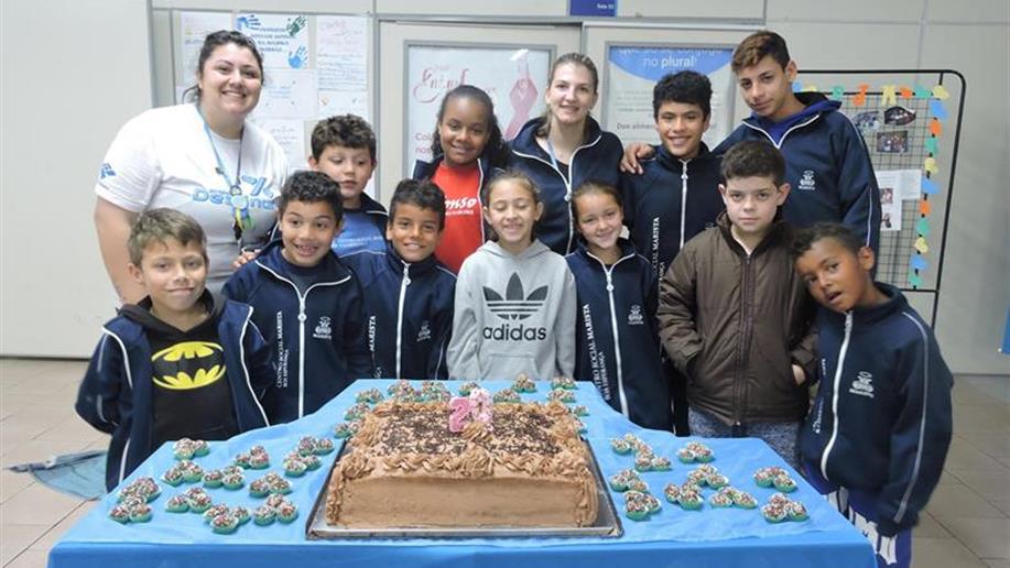 Educandos e educadores celebraram juntos em agosto