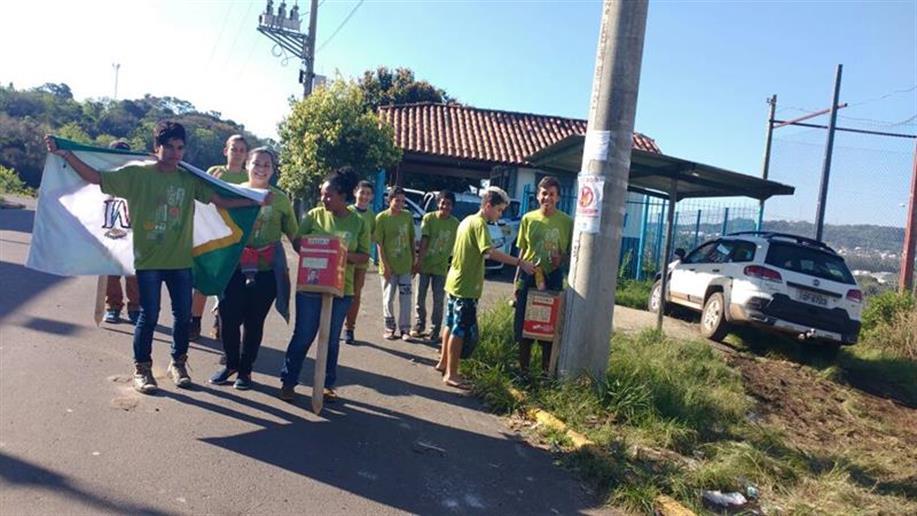 Ação ocorreu no bairro Santa Vitória