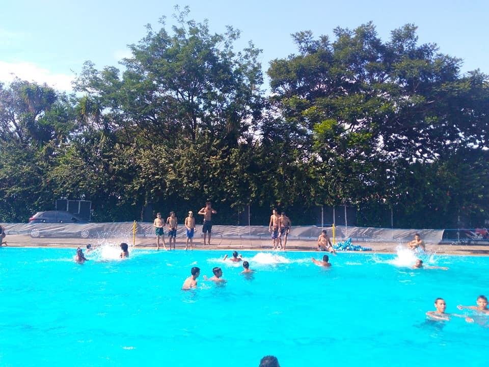 Momento de diversão dos educandos do Cesmar
