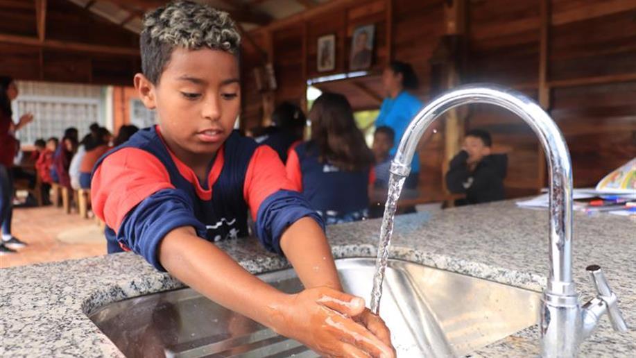 Educandos aprenderam a importância da água e formas de economizá-la