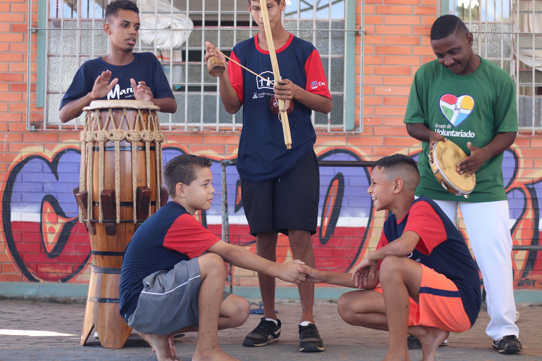 Capoeira como forma de inclusão social