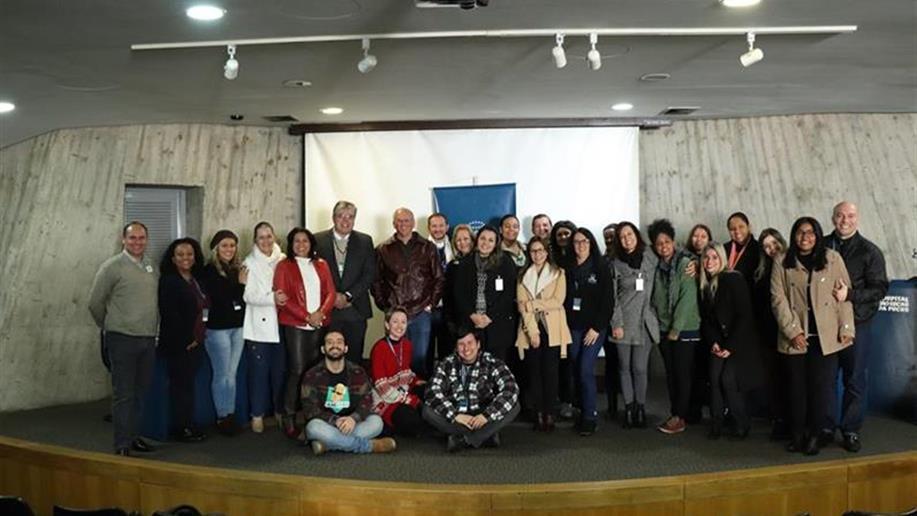 A décima edição do Café com Parceiros aconteceu no Hospital São Lucas