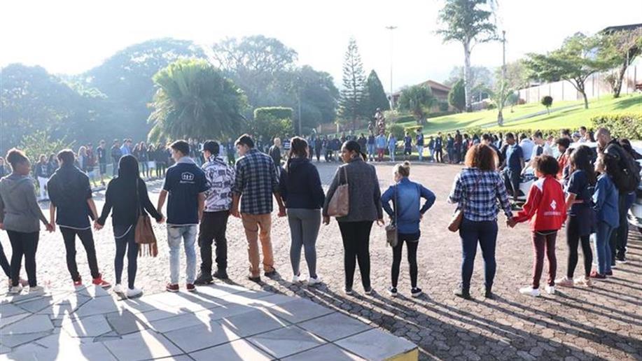 A fim de trazer novas visões sobre a vida, os jovens do Polo participaram do Encontrão de Projeto de vida.