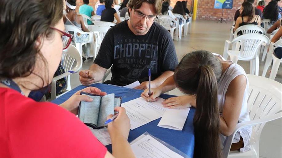 Educandos iniciam nos cursos de Assistente Administrativo, Assistente Administrativo Hospitalar e Operador de computador.