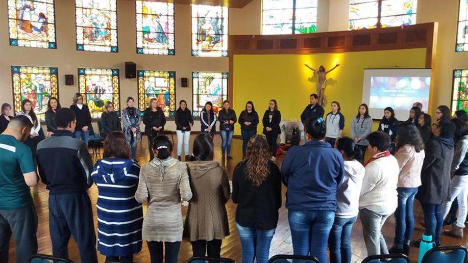 Evento contou com a participação de colaboradores do Centro Social e da Escola Marista Santa Marta