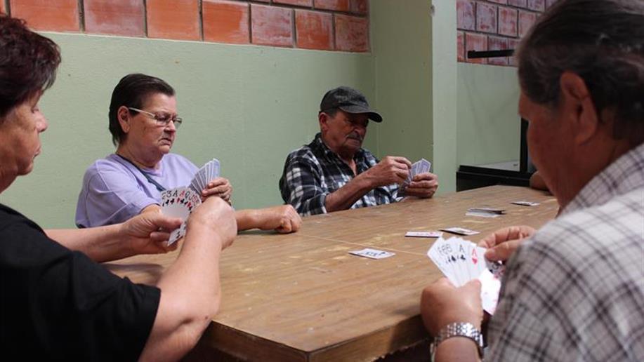 Grupo do Centro Social participaram de atividades com diversão e integração