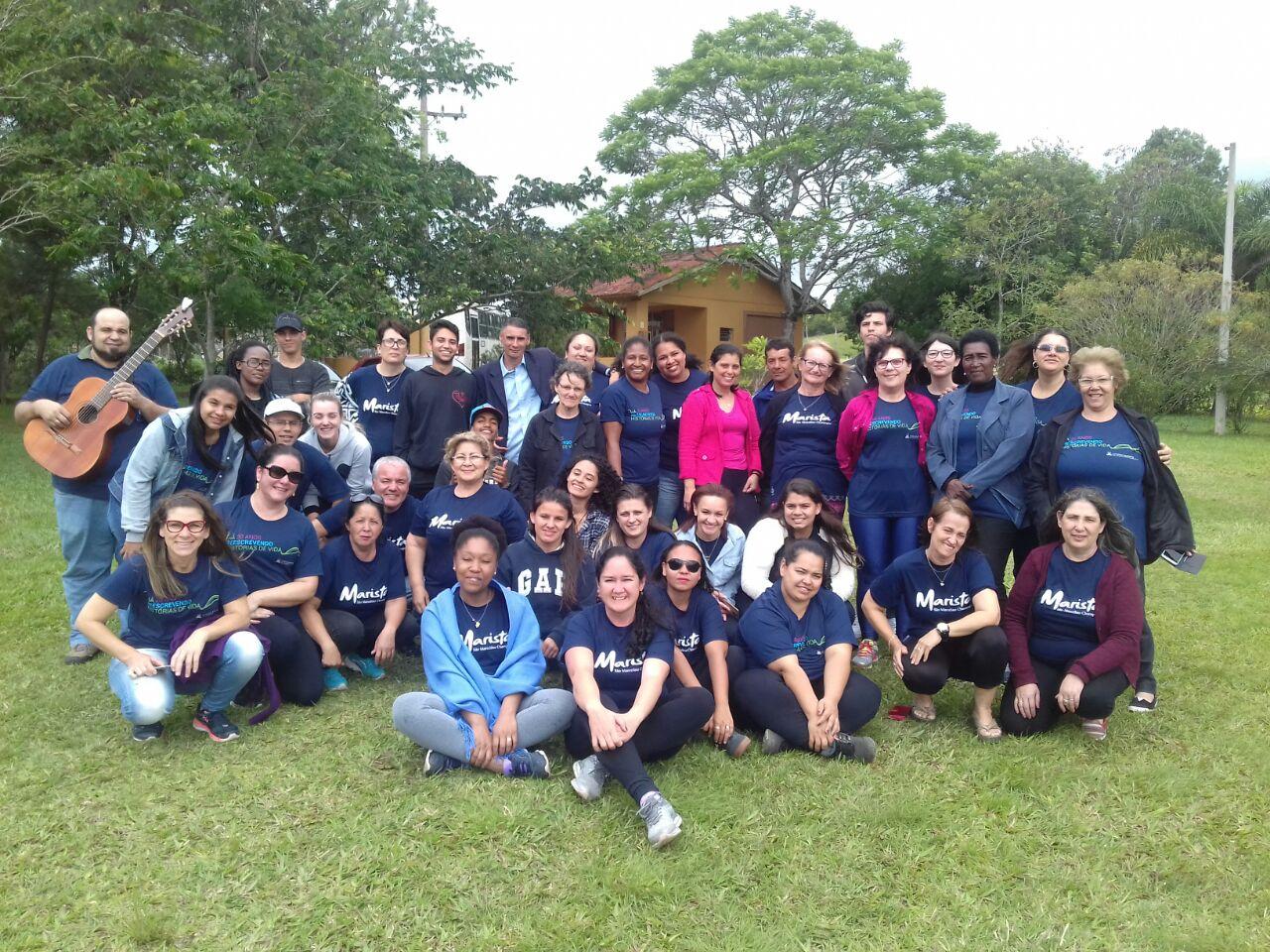 O Serviço de Pastoral Escolar (SPE) trabalhou a formação humana e espiritual dos estudantes, com dinâmicas e atividades reflexivas.