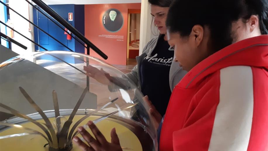 As exposições do Museu da PUCRS são elaboradas para despertar a curiosidade e o gosto pelas ciências