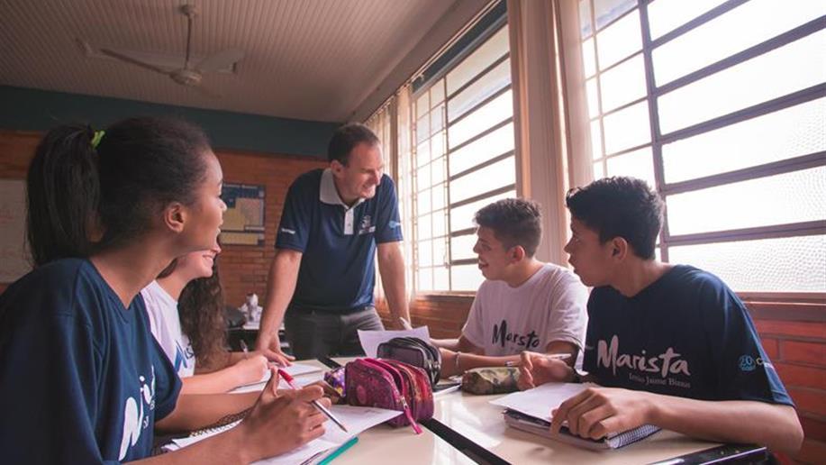Estudante é visto como agente, construtor e protagonista.