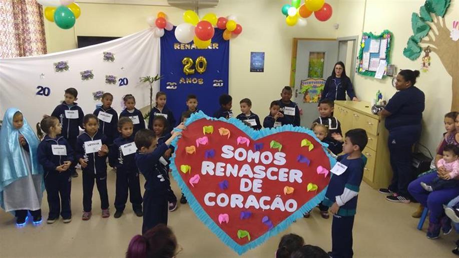 Integrantes da Gerência Social participaram do aniversário