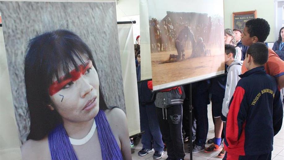 Exposição, palestra e documentário abordaram o povo indígena