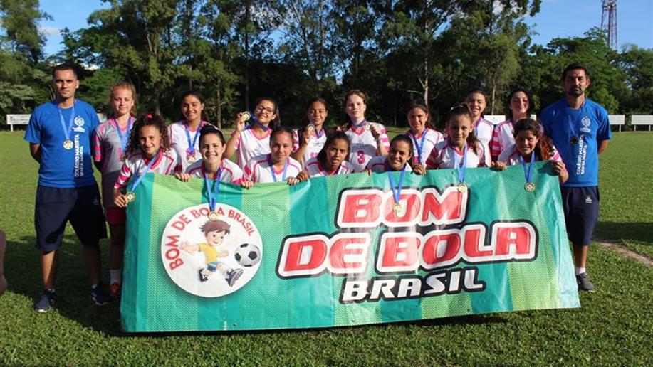 Equipe garantiu a vaga na fase estadual dos Jogos Bom de Bola em Passo Fundo
