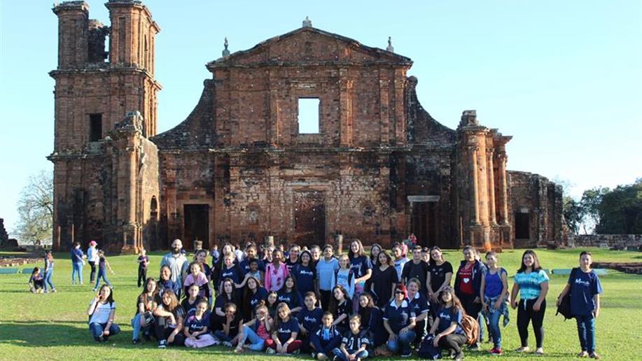 Grupo visitou as cidades de Santo Ângelo e São Miguel das Missões.