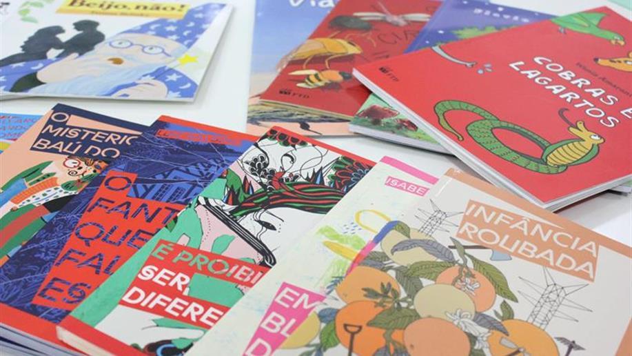 Mais opções de literatura infantil e infanto-juvenil na Biblioteca Champagnat