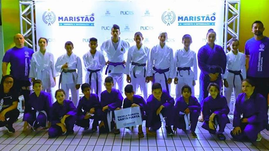 Unidade participou nas competições de judô e futebol de campo